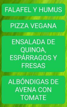 Dieta Vegana para Adelgazar apk screenshot
