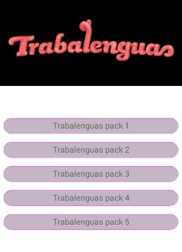 40 Trabalenguas Para Niños apk screenshot
