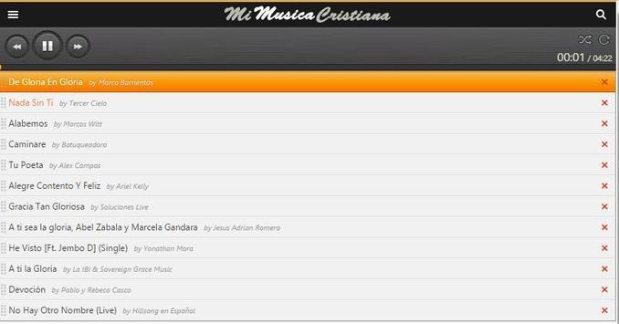 Musica Cristiana captura de pantalla 3