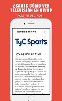 Televisión en línea gratis poster