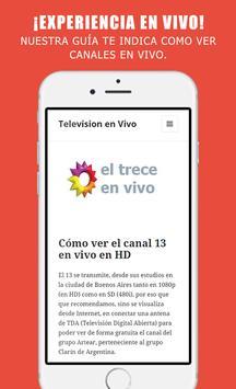 Televisión en línea gratis apk screenshot