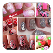 Nails art design. Vol 1 icon