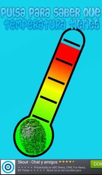 Temperatura Termometro Broma poster