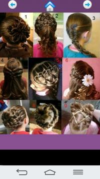 Cute girl hairstyles screenshot 2