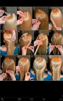 Easy hairstyles with braids apk screenshot