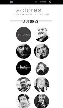 Actores Revista apk screenshot