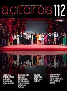 Actores Revista poster