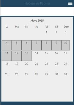 Novena Fatima 13 mayo apk screenshot