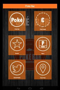 Poké Bar poster