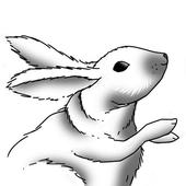 How to Draw Rabbit icon