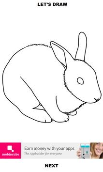 How to Draw Rabbit apk screenshot