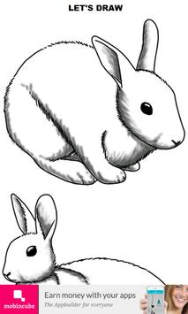 How to Draw Rabbit poster