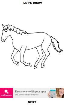 How to Draw Horses screenshot 3