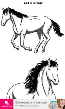 How to Draw Horse poster