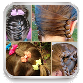 Hairstyles for girls 2018 icon