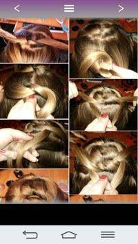 Hairstyles for girls 2018 apk screenshot
