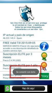 Internet 4G GRATIS apk screenshot