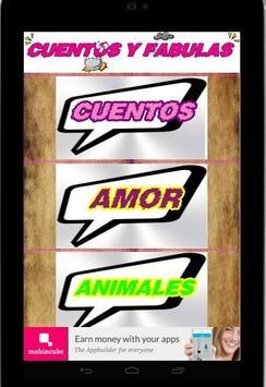 CUENTOS Y FABULAS GRATIS screenshot 7