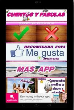 CUENTOS Y FABULAS GRATIS screenshot 8