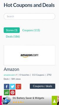 Coupons Links screenshot 1