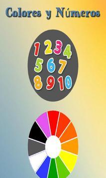 Colores y Números poster