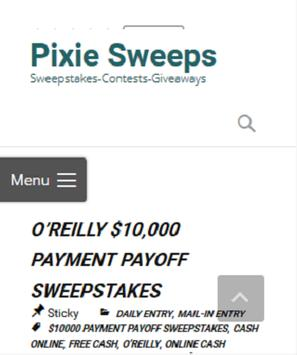 Pixie Sweeps poster