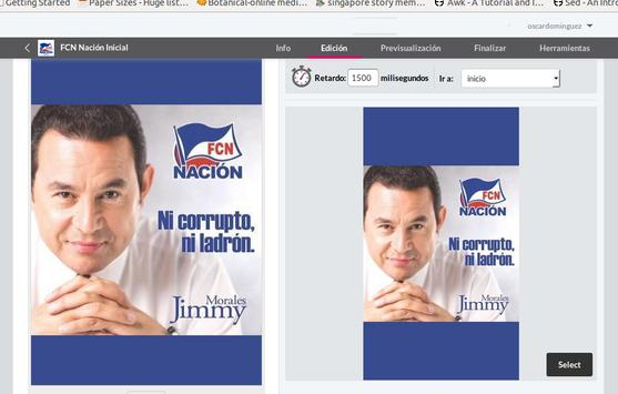 FCN Nación poster