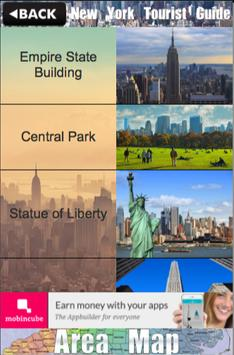 New York City Tourist Guide poster