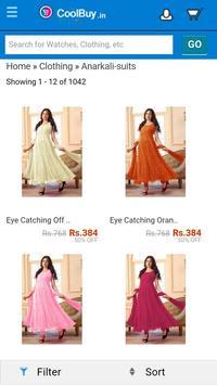 Online Shopping app screenshot 1