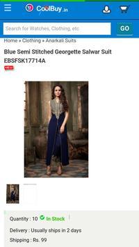 Online Shopping app screenshot 3