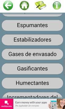 Info Aditivos Alimentarios E apk screenshot