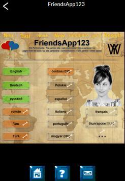 FriendsApp123 apk screenshot