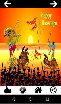 Dussehra and Navaratri Card poster