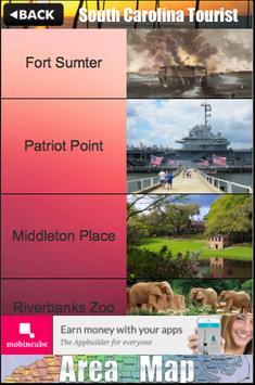 South Carolina Tourist Guide poster
