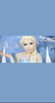 Elsa Makeup poster