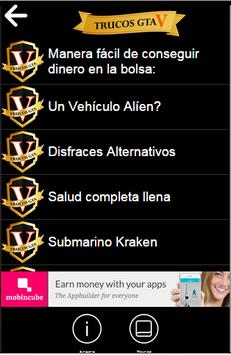 🎮 Claves Para GTA 5 apk screenshot