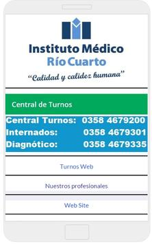 Instituto Médico Río Cuarto screenshot 3