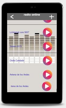Radio streaming tutorial screenshot 2