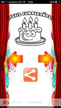 Felicitaciones de cumpleaños screenshot 5