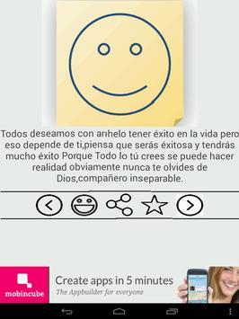 Frases de optimismo apk screenshot