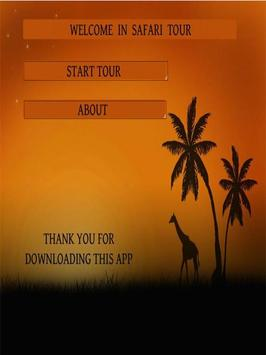 Safari tour apk screenshot