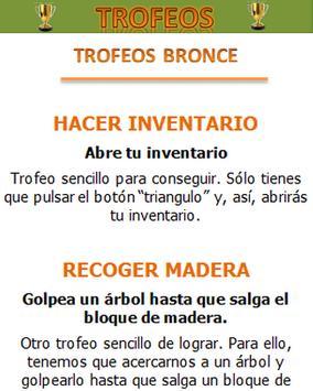 Logros/Trofeos Minecraft poster