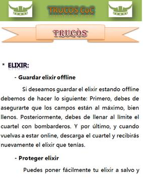 Trucos CoC apk screenshot
