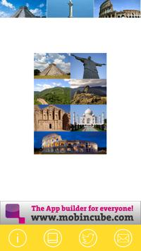 7 wonders of the world poster