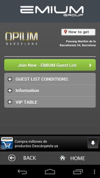 Emium - Barcelona Night Clubs screenshot 2