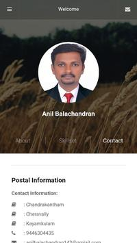 Anil Balachandran poster
