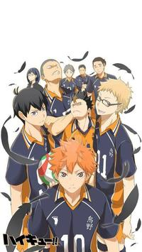 Anime Karasuno 烏野 Wallpapers screenshot 4