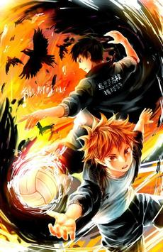 Anime Karasuno 烏野 Wallpapers screenshot 5