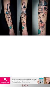 Astounding Cubism Tattoos screenshot 1