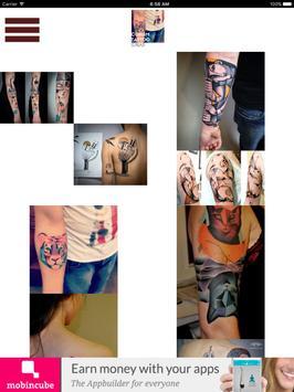 Astounding Cubism Tattoos screenshot 2